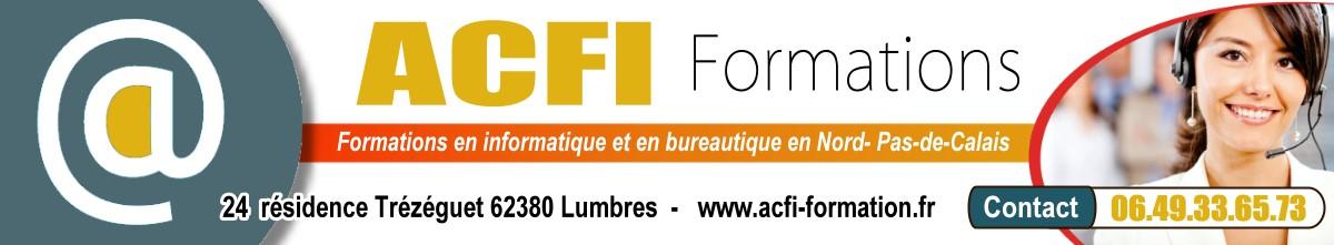 ACFI FORMATION : Organisme de Formation en informatique et bureautique (Nord/59) Logo